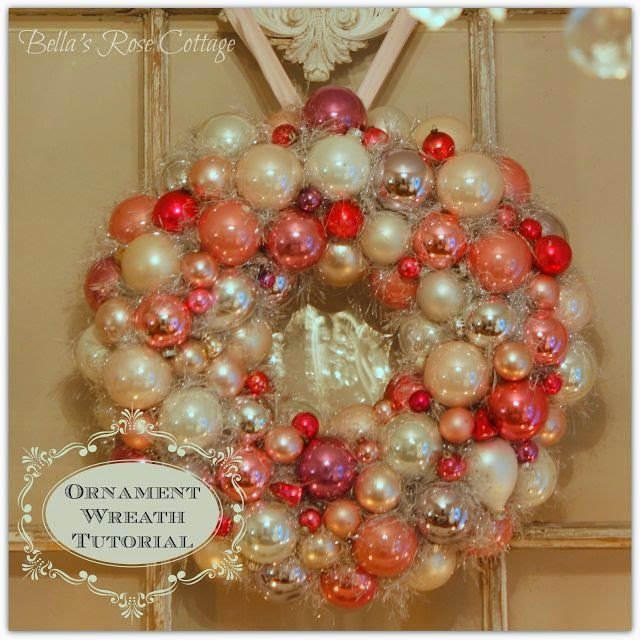 My Ornament Wreath Tutorial