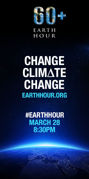 Earth Hour 60+ - 2015 THIS SATURDAY! Are YOU in?