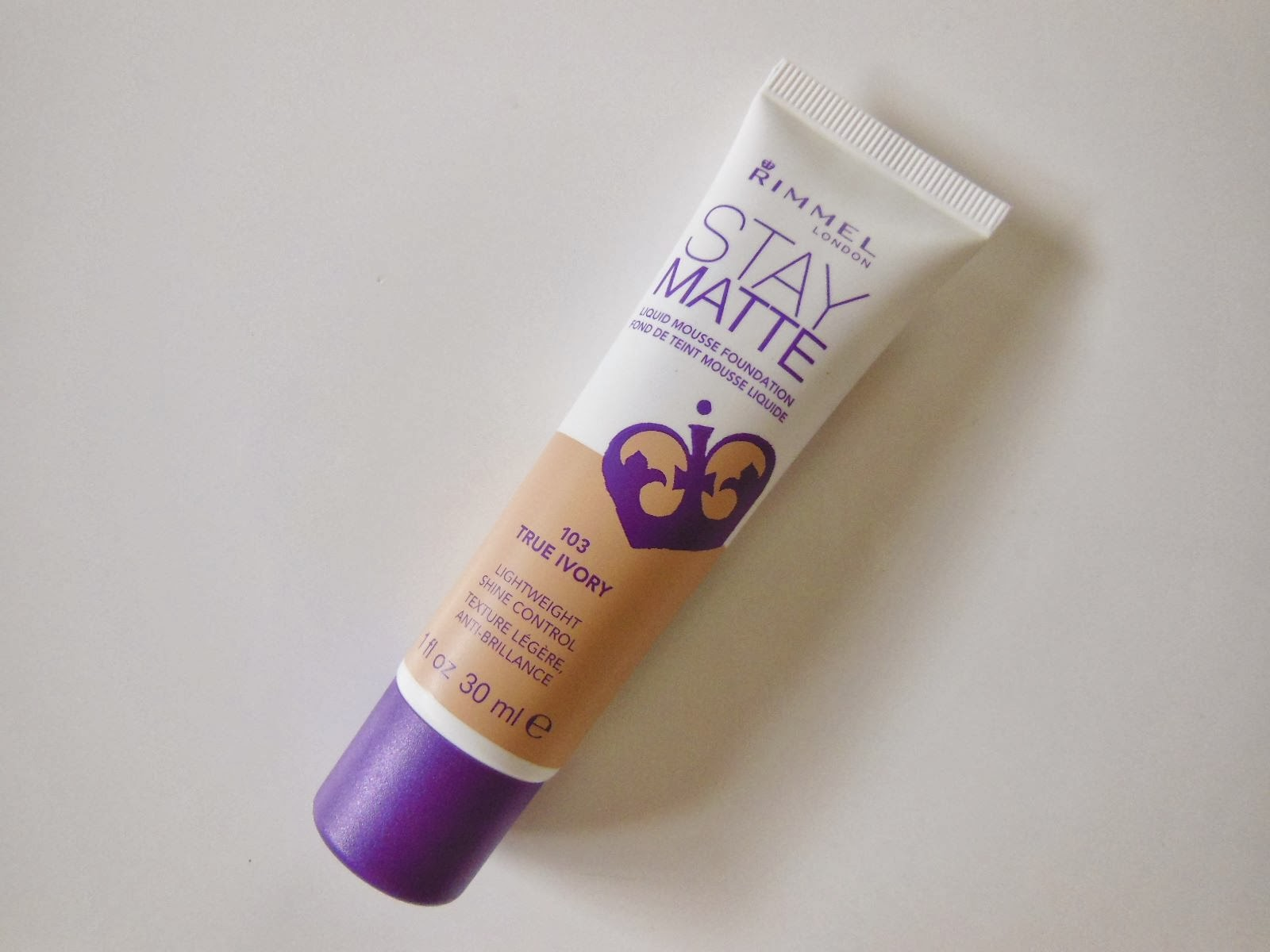Product Review: Rimmel London Stay Matte Liquid Mousse ...
