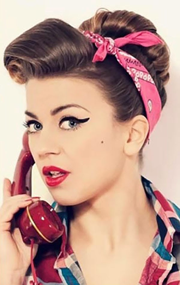 Women Chic Retro Hairstyles Hairstyles Tips