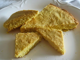 Italian Lemon Cornmeal Shortbread