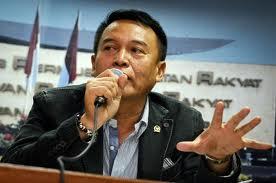 Wakil Ketua Komisi I DPR TB Hasanuddin.