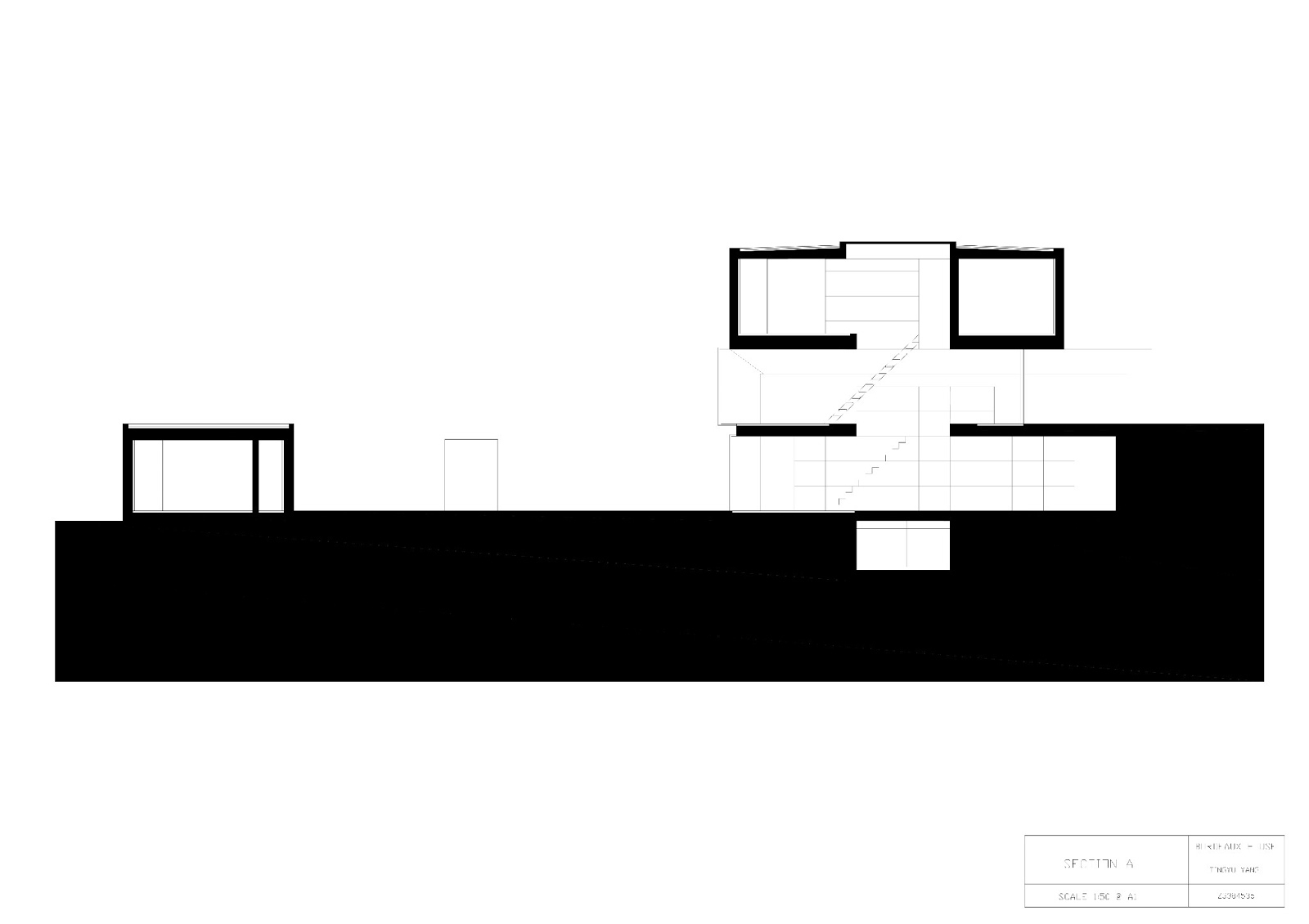 arch1201 design studio three carol bordeaux house drawings. Black Bedroom Furniture Sets. Home Design Ideas