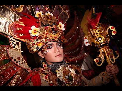 foto-foto gemerlap Jember Fashion Carnaval di pembukaan Jakarta EpiCarnival