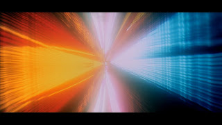 Colourfull spectrum in movie : 2001-A space odyssey