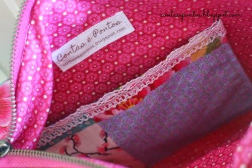 Mala em tecido - sling bag