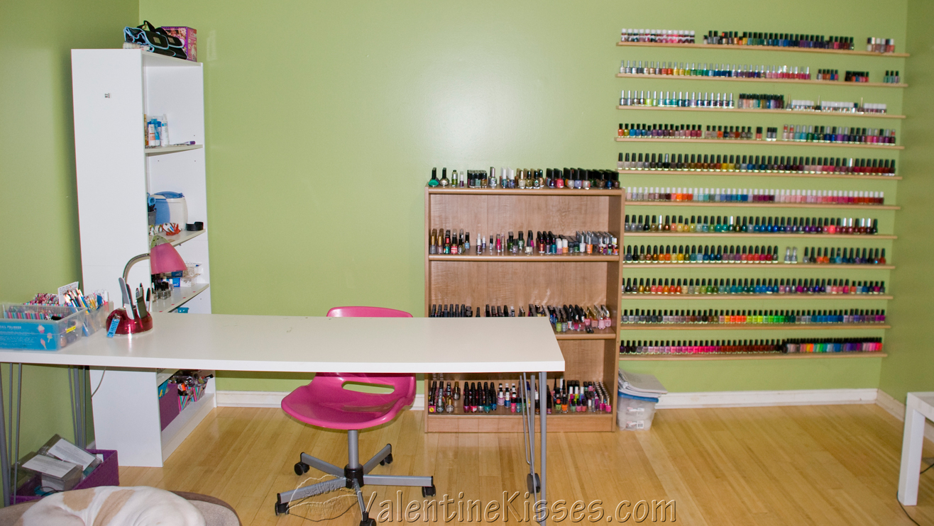 my nail polish collection first up are my nail polish nailshomesg downloadnail salon design ideas nail
