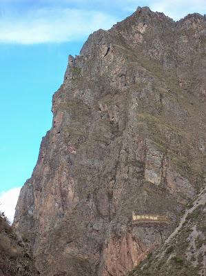 Perfil indio Tunupa, Ollantaytambo, Perú, La vuelta al mundo de Asun y Ricardo, round the world, mundoporlibre.com