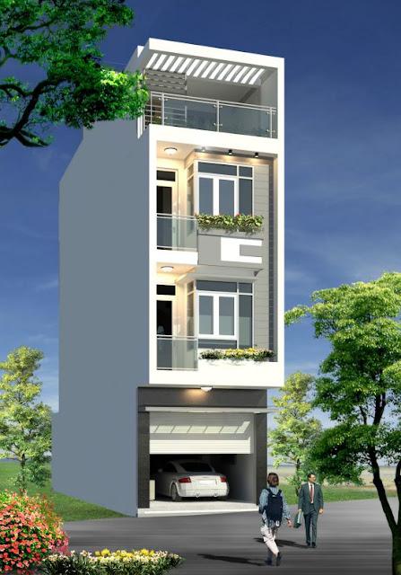 Tuyển chọn những mẫu nhà phố với diện tích nhỏ kiểu dáng hiện đại