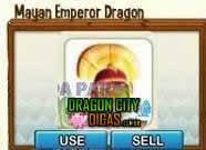 Dragão Imperador Maia ( ou Asteca )