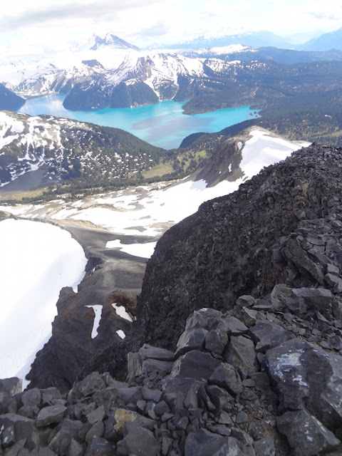 Garibaldi Lake from Black Tusk