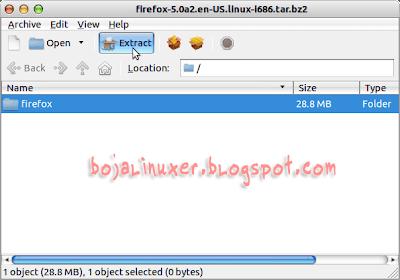 Mozilla Firefox 5.0 Aurora