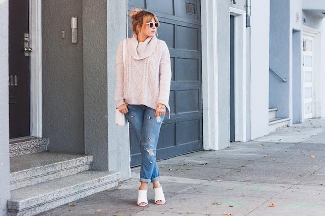 Girly Edgy Style on Stone Fox Style a San Francisco Fashion Blog by Bryn Newman