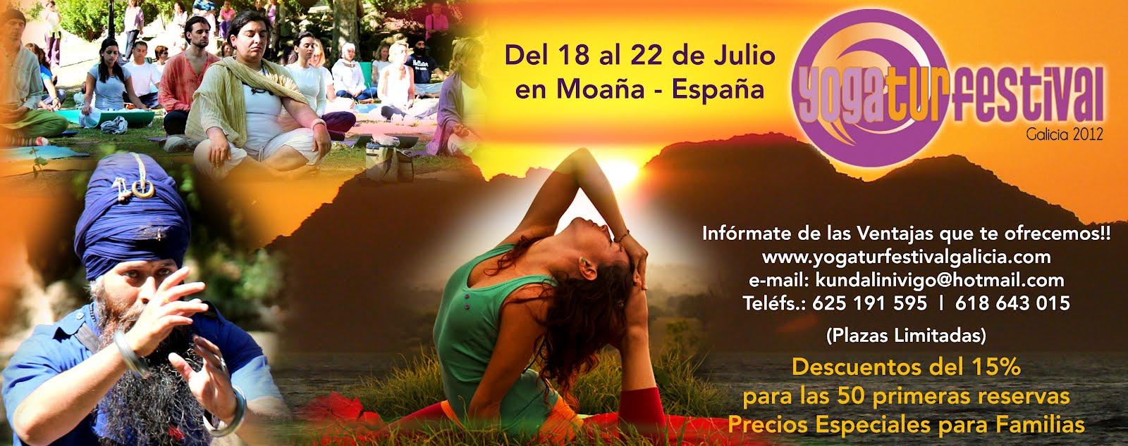 YOGA FESTIVAL GALICIA - YOGATUR 2012 ESPAÑA
