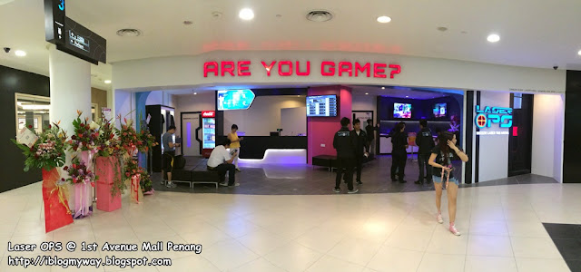 Laser OPS, 1st Avenue Mall Penang