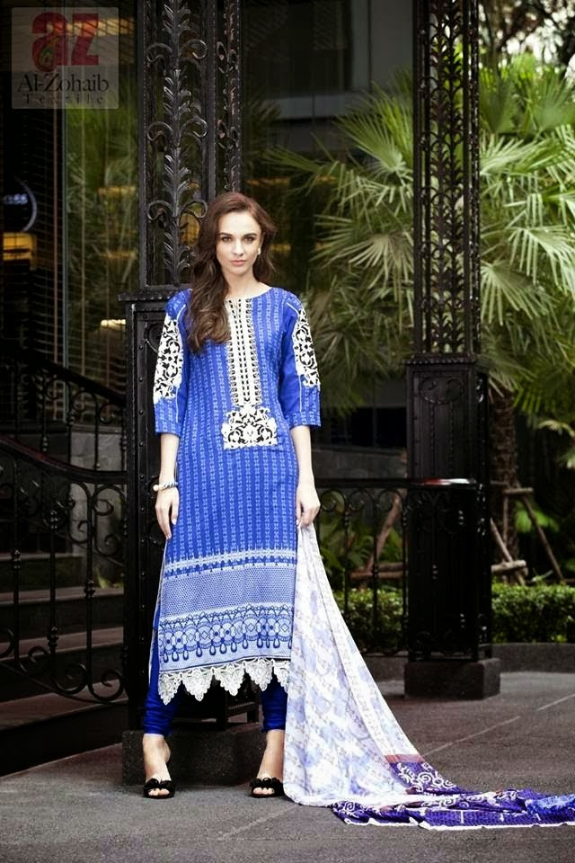 Mahnoor Summer Lawn Designs 2014
