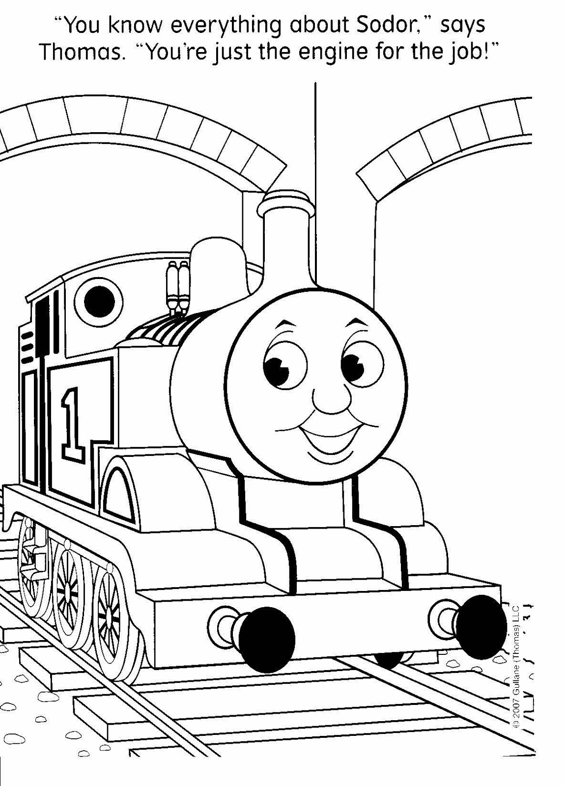 coloring pictures of trains