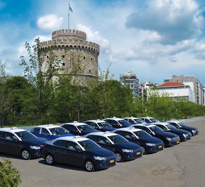 Πληρωμές με Visa στα ταξί της Taxiway στην Θεσσαλονίκη