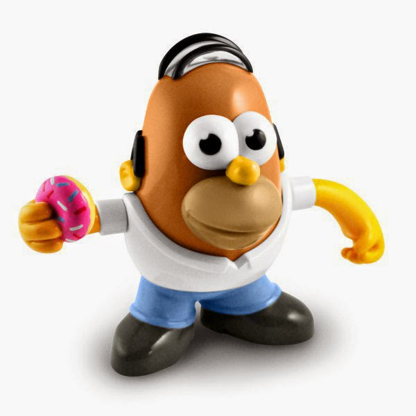 Mister Potato Homer Simpson