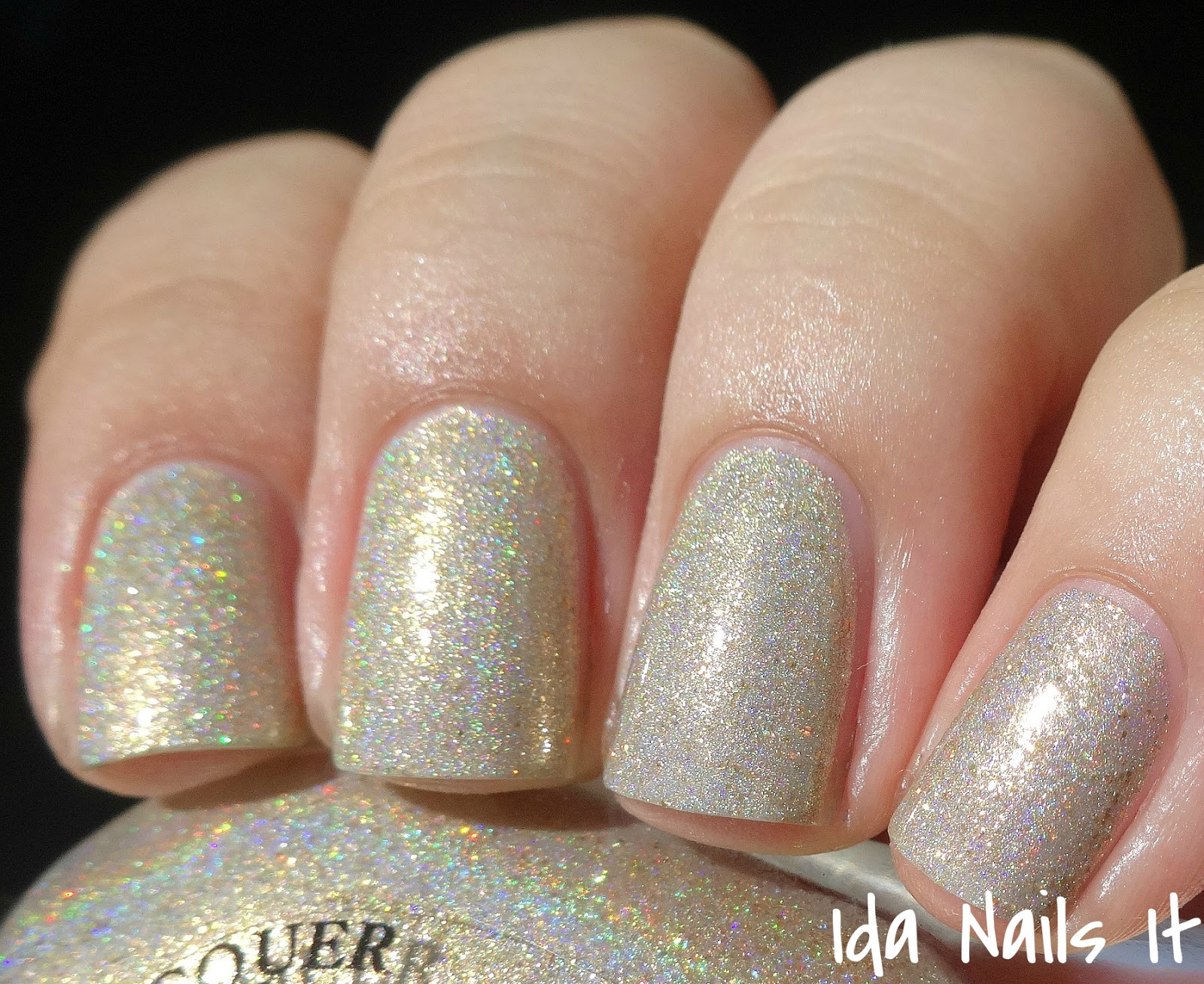 Ida Nails It: Black Dahlia Lacquer Holo Petals Collection: Swatches ...