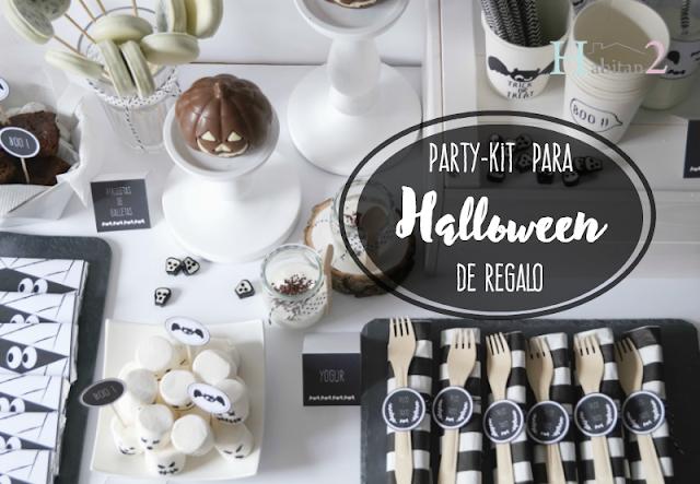 Party-kit para Halloween de regalo, diseño de Habitan2