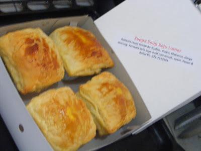 Snack Box Zuppa Soup untuk group di Marina Ancol Jakarta