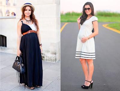 Roupas de verão para grávidas - Vestidos