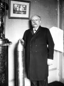 Eugène Turpin chez lui