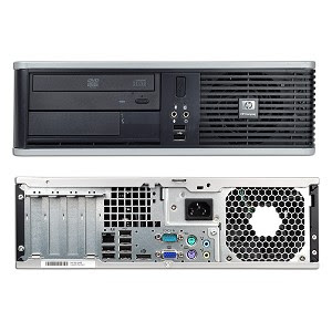 cpu built-up branded hp 5800 core2duo bekas