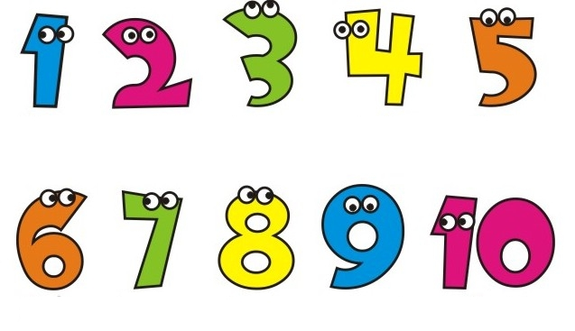 Adesivo Delineador Para Os Olhos ~ Decoraç u00e3o para Sala de Aula Numerais de 1 a 10 Armário do Professor