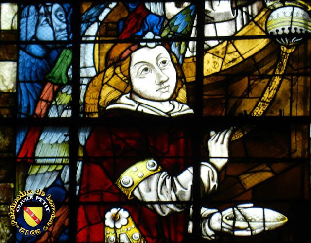 TOUL (54) - Cathédrale Saint-Etienne : vitrail de 1503