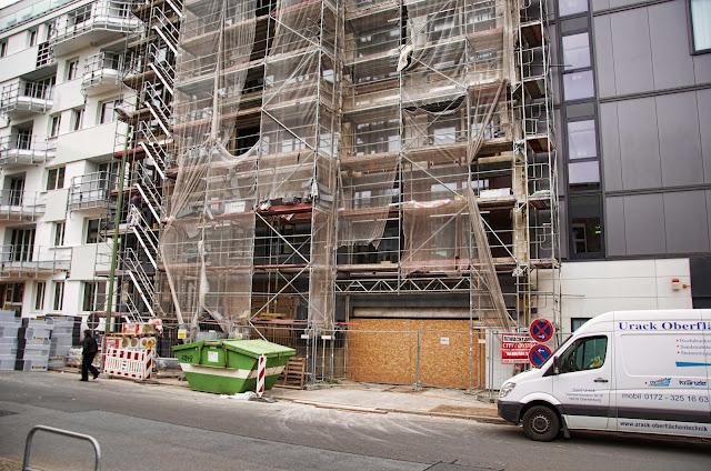 Baustelle LAUTIZIA, Neubau-Eigentumswohnungen, Ehrenbergstraße 20, 10245 Berlin, 11.04.2014