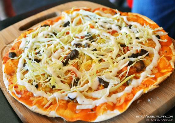 Beef Shawarma Pizza