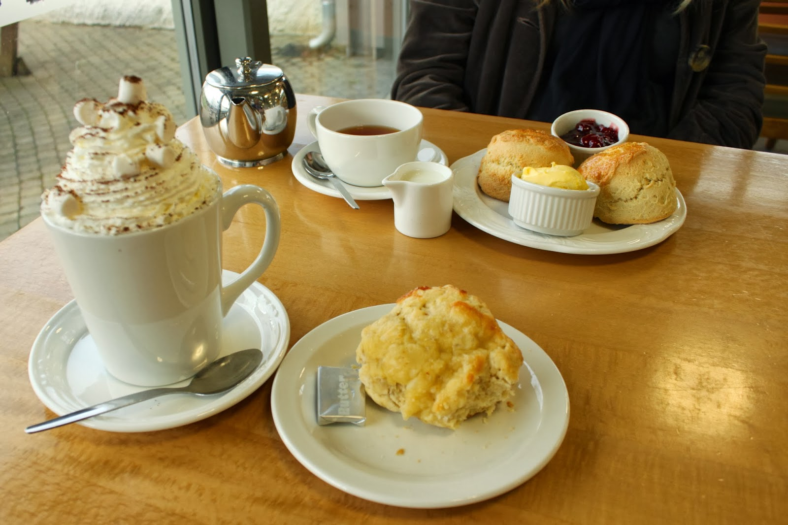 Castle Drogo, Cream tea