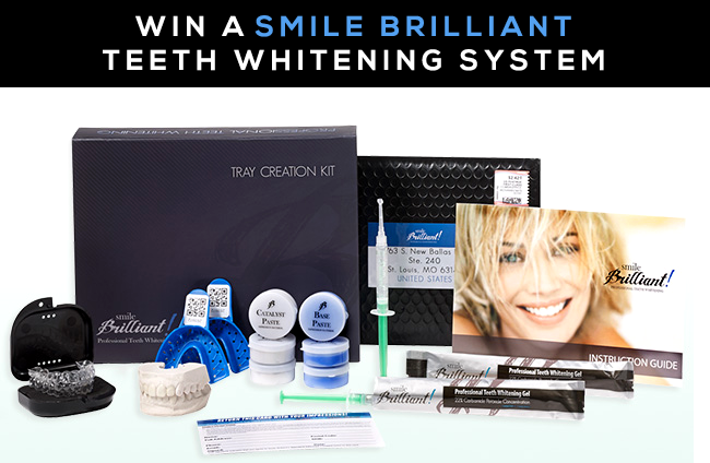 GIVEAWAY // Win a Smile Brilliant Professional Teeth Whitening System
