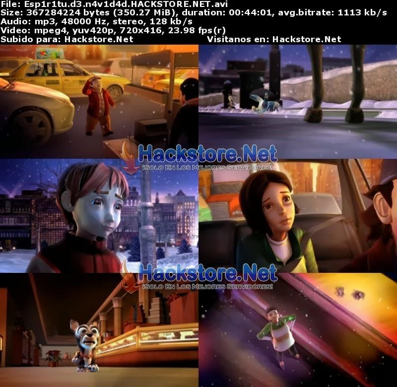 Captura Pequeño Espíritu: Navidad En Nueva York (2008) DVDRip Latino
