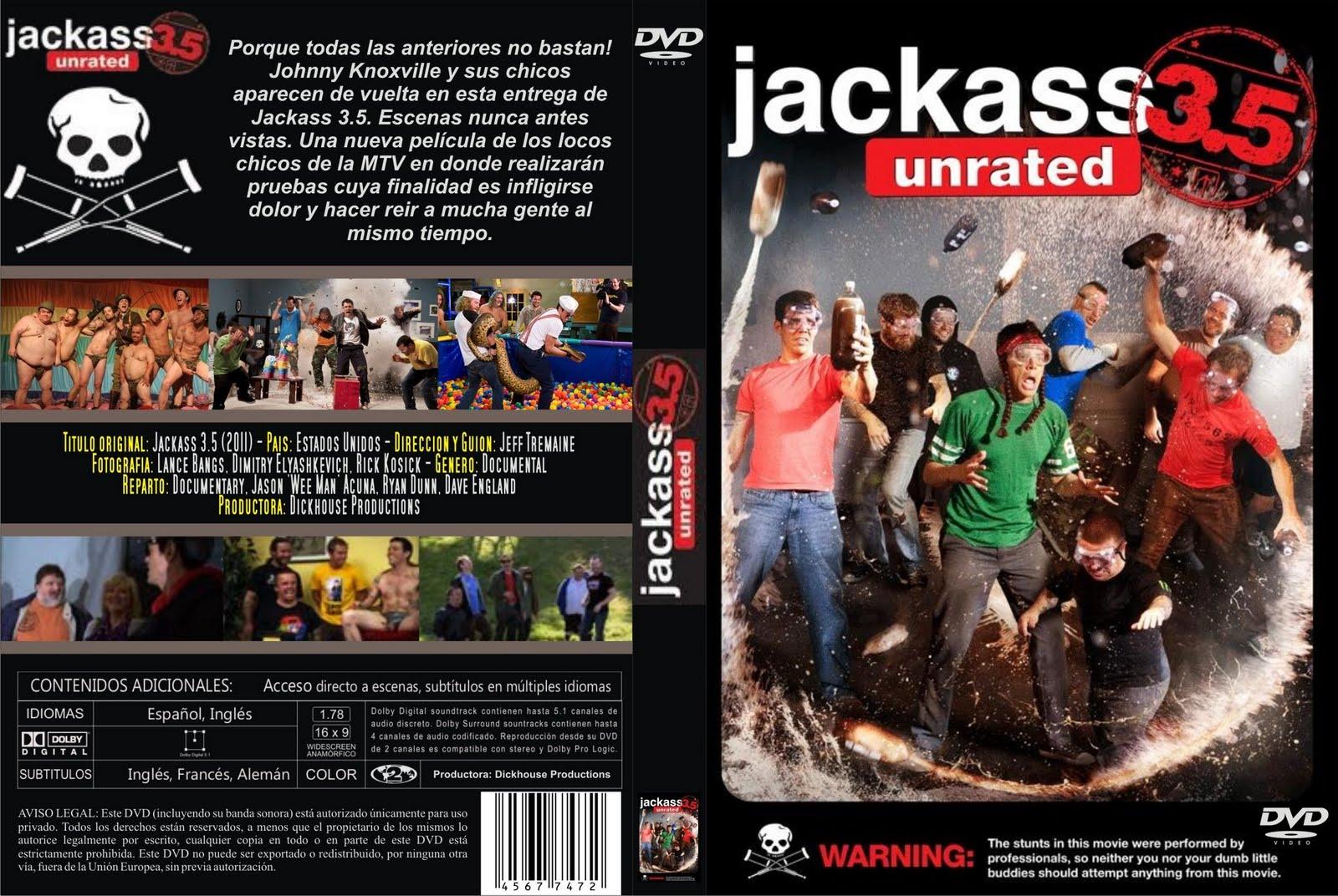 Jackass 1 dvdrip latino