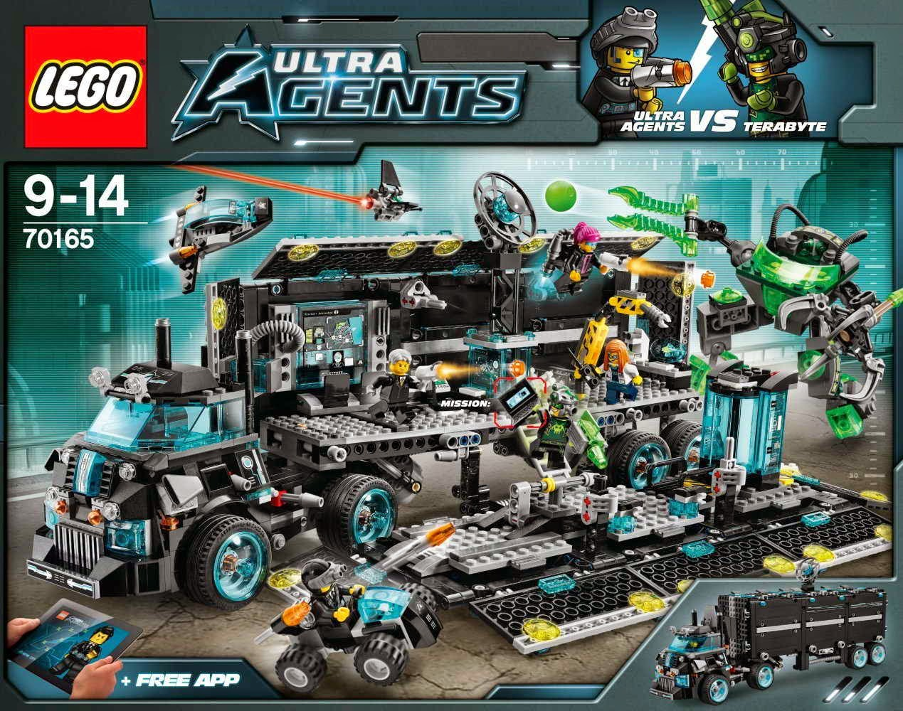 LEGO gosSIP: 230414 LEGO 70165 Ultra Agents Mission HQ box ... | 1269 x 1000 jpeg 300kB