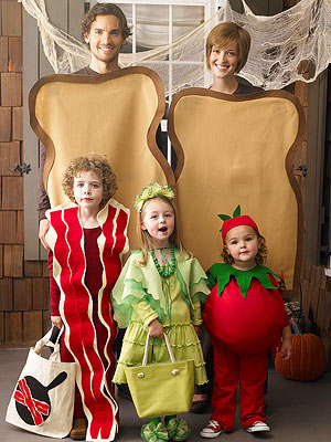 BLT Sandwich Group Halloween Costume by Parents.com