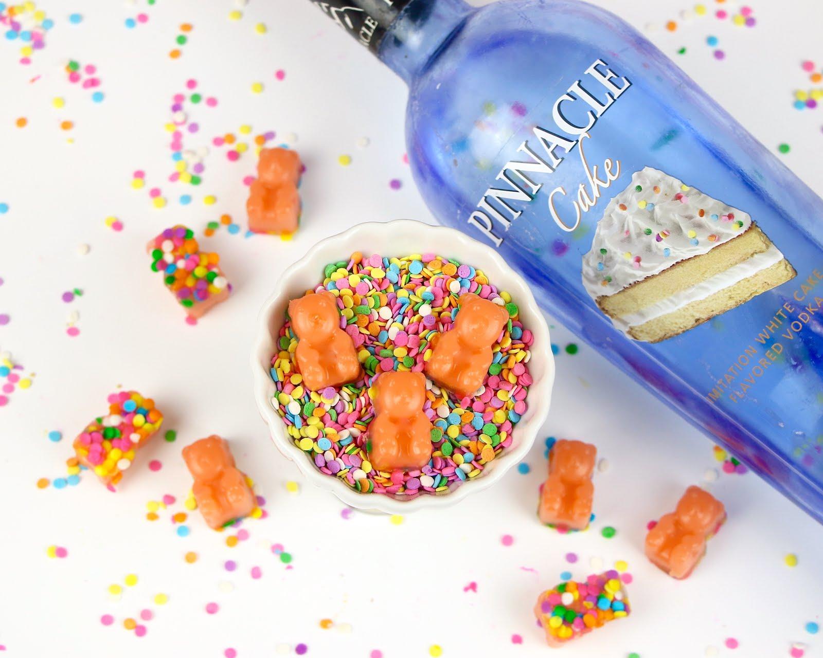Video Funfetti Cake Vodka Gummy Bears The Lindsay Ann