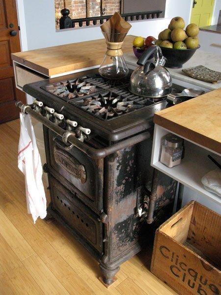 La fabrique d co meubler sa cuisine comme un chef avec une cuisini re pas - Cuisiniere style ancien ...