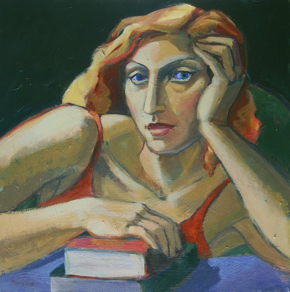 Possibilities, figurative painting of woman, female figuration ...