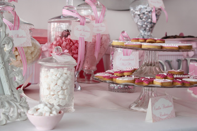 Pink And White Wedding Decorations