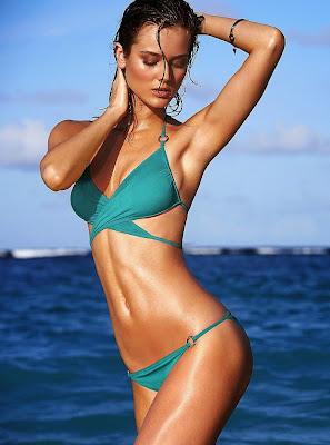 Monika Jagaciak hot sexy bikini models
