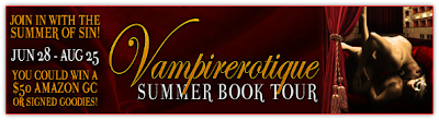 Vampirerotique Summer Book Tour: The Heroines of the Vampire Erotic Theatre Series & Giveaway
