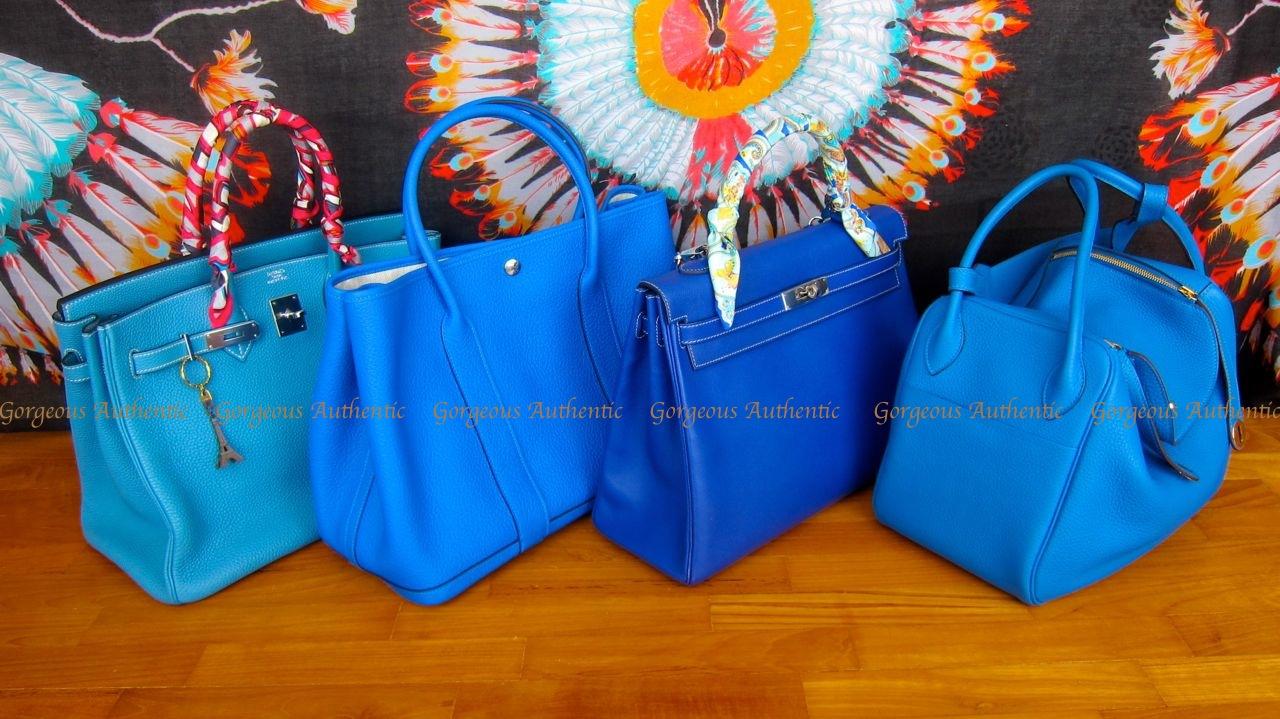 d41f6651d47b sale gorgeous authentic handbags hi ga ers hermes blue line up to get .  6aa1a 6c547