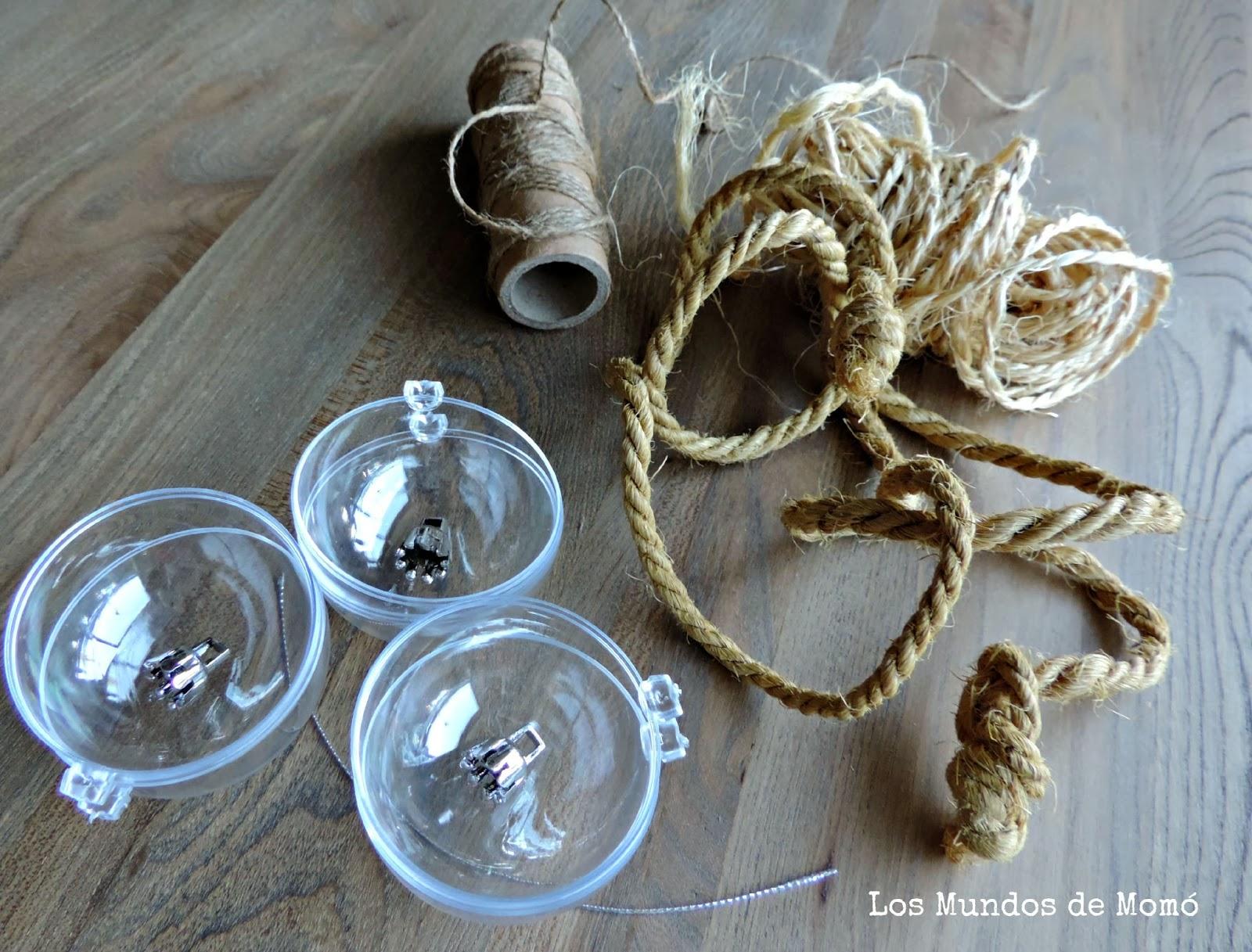 Decorando la navidad unas bolas para el rbol muy naturales handbox craft lovers comunidad - Bolas navidad transparentes ...
