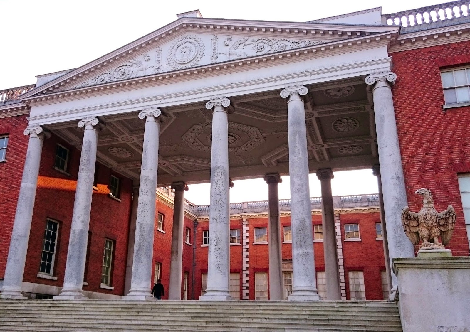 Front entrance of the house, Osterley Park