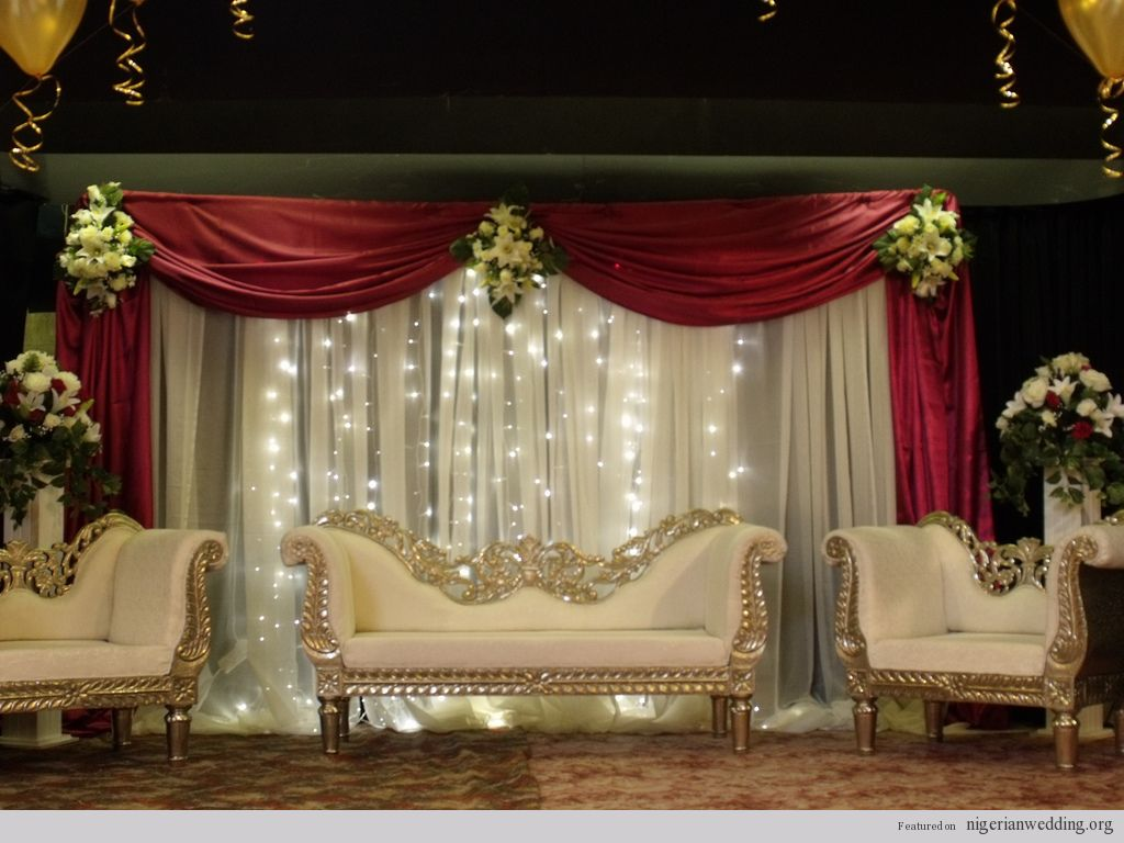Mehndi Stage Background : Wedding stage decoration romantic