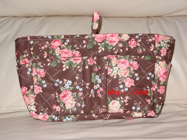 textile female bag organizer, fabric female bag organizer